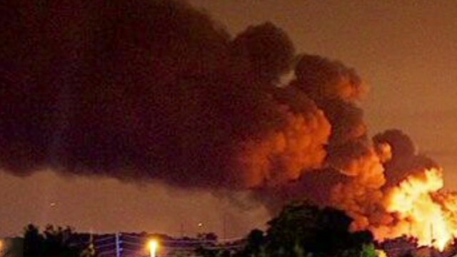 Series of explosions rock gas plant
