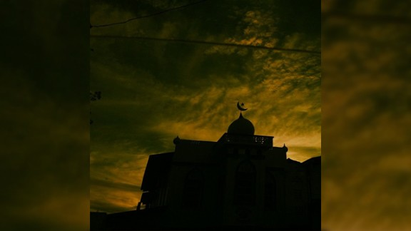 Renisha Leah Bisnath took this photo of a local mosque in her native Trinidad and Tobago where Eid is one of the year