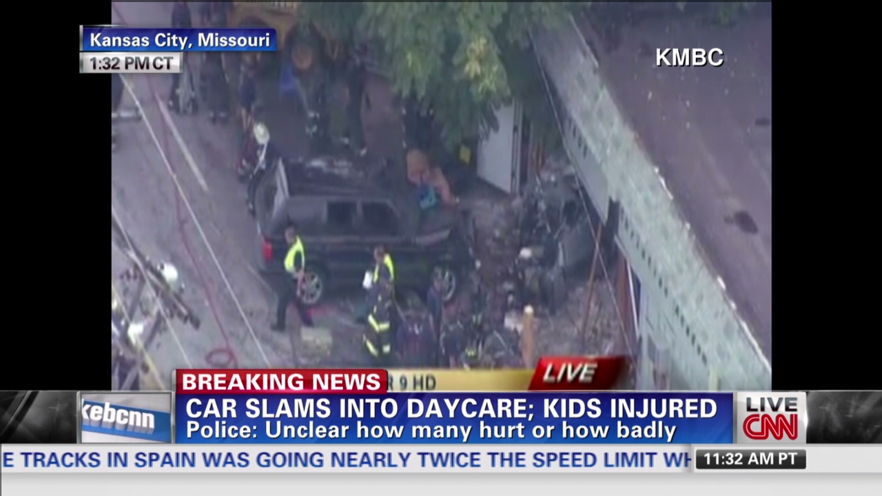 Injuries reported in day care crash - CNN Video