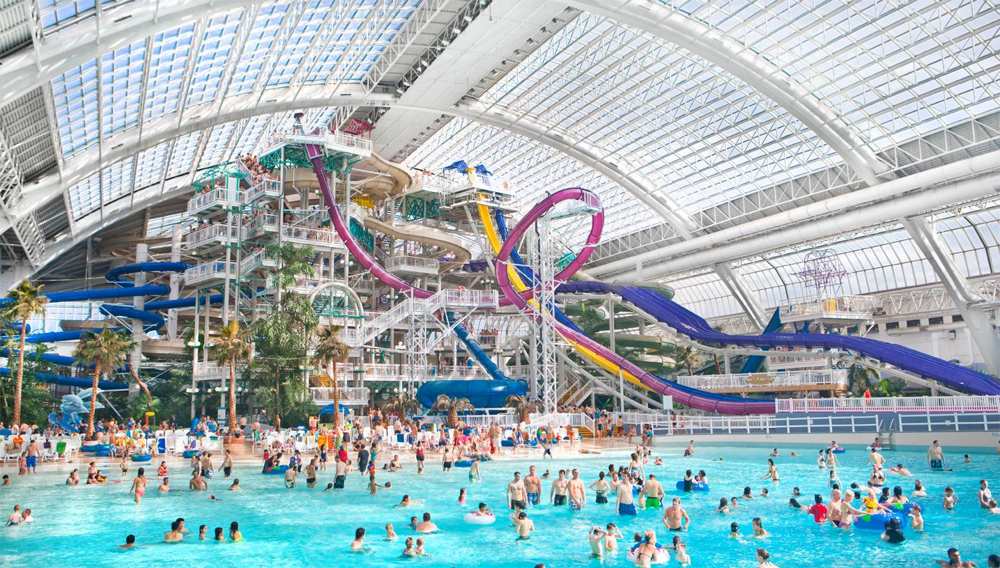 Aquapark in Khabarovsk World Class: address, prices