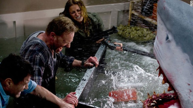 The sequel to the very popular TV movie 'Sharknado'  will be set in New York City.