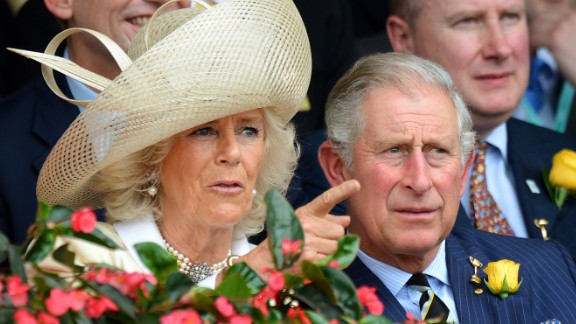 Prince Charles, the heir to the British throne, and his wife the Duchess of Cornwall attend the Melbourne Cup -- Australia's most famous race -- in 2012.