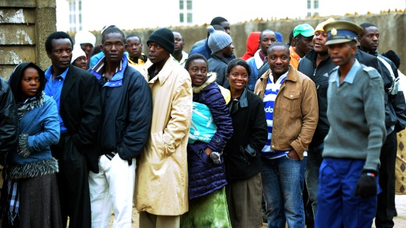 The polls will end an uneasy coalition government formed after violence broke out in 2008.