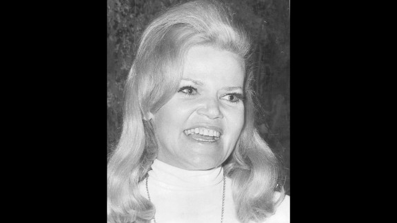 """Eileen Brennan, who earned an Oscar nomination for her scene-stealing role in the 1980 hit comedy """"Private Benjamin,"""" died Sunday, July 28, after a battle with bladder cancer, her management company said. Brennan, pictured here in 1968, was 80."""