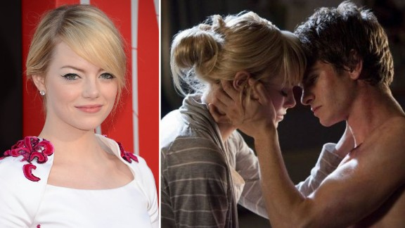 """The latest """"Spiderman"""" sweetheart Emma Stone, who played love interest Gwen Stacy in the new remake, is a new entry to the highest-paid actress list."""