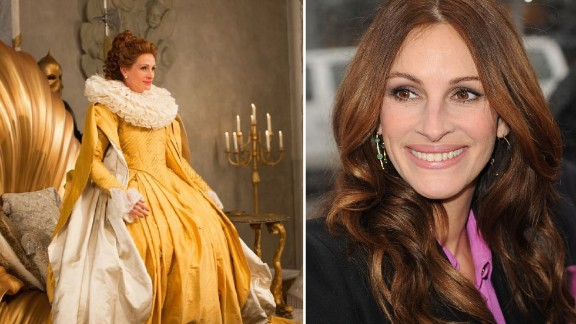 """Julia Roberts only made one film last year but the other Snow White remake, """"Mirror Mirror"""" helped landed the well-known superstar on the recent Forbes list with earnings of $10 million."""