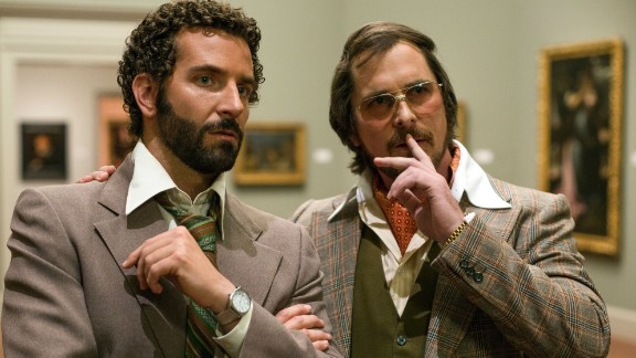 "Outstanding performance by a cast in a motion picture: ""American Hustle"""