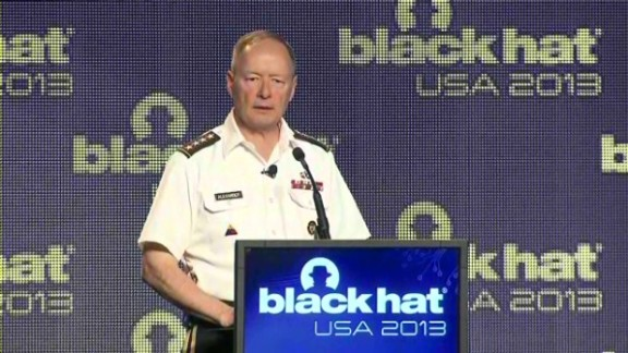 """Gen. Keith Alexander, NSA director: """"I promise you the truth -- what we know, what we're doing, and what I cannot tell you."""""""