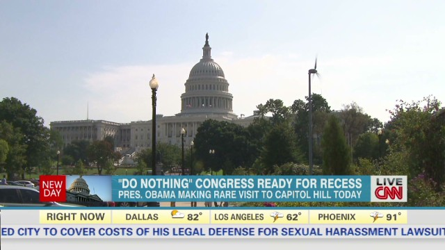 Congress prepares for recess