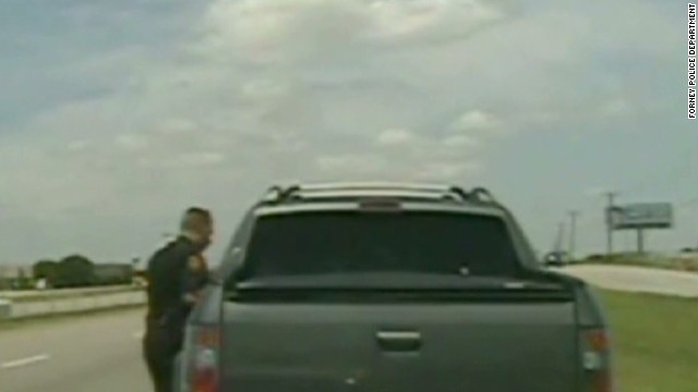 Zimmerman pulled over by police in Texas