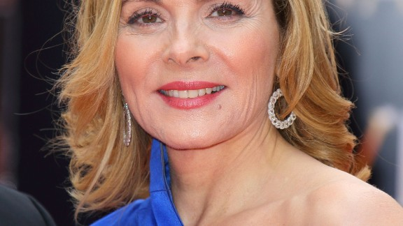 """Sex and the City"" star Kim Cattrall has said she's happy with her childless life. ""Being a biological mother just isn't part of my experience this time around,"" she told O magazine in 2003."