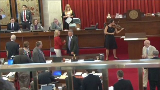 Why are N.C. lawmakers dancing?