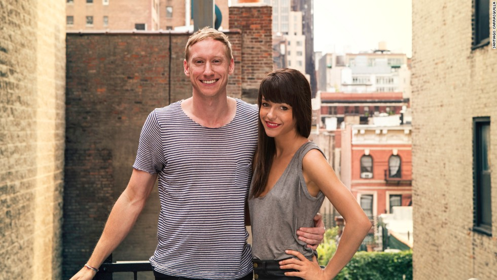 "Friends Timothy Goodman, 32, and Jessica Walsh, 26, dated for 40 days as an experiment. Their blog, <a href=""http://fortydaysofdating.com/"" target=""_blank"">40 Days of Dating</a>, has gone viral."