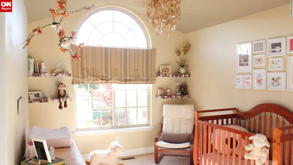 "<a href=""http://ireport.cnn.com/docs/DOC-1011514"">Corrie Moore</a>'s <a href=""http://littlehouseontheupdate.com"" target=""_blank"">neutral nursery</a>."