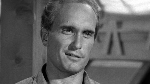 """""""Robert Duvall was not handsome, but he was attractive. He could be a bad guy, he could be a good guy,"""" Dougherty said of the Oscar-winning actor, pictured in a 1963 episode of """"The Fugitive."""""""