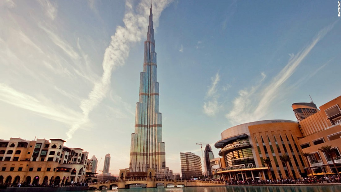 Currently world's tallest building, since it was completed in 2010, is the Burj Khalifa. It stands a massive 198 meters (650 feet) above its nearest competitor. <br /><br /><strong>Height: </strong>828m (2717ft) <strong><br />Floors: </strong>163<br /><strong>Architect: </strong>Skidmore, Owings & Merrill