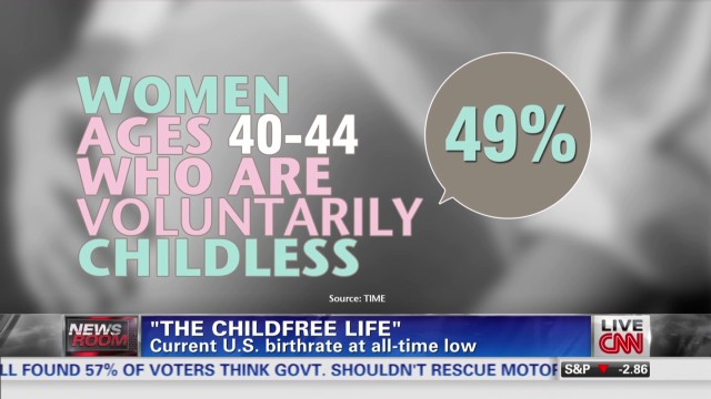 More women choosing a childfree life