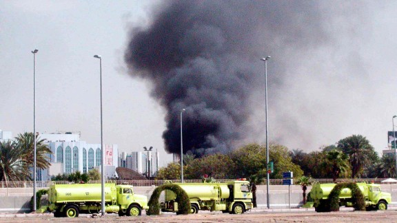 An attack on the U.S. Consulate in Jeddah, Saudi Arabia, killed nine people on December 7, 2004. A Saudi group linked to al Qaeda claimed responsibility for the attack.
