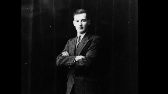Swedish diplomat Raoul Wallenberg, circa 1937.