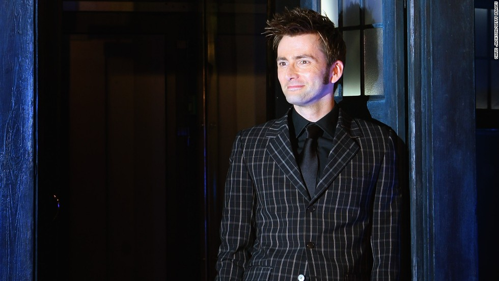 David Tennant, who played the Doctor from 2005-2009, arrives for the gala screening of the Doctor Who Christmas episode at the Science Museum on December 18, 2007 in London.