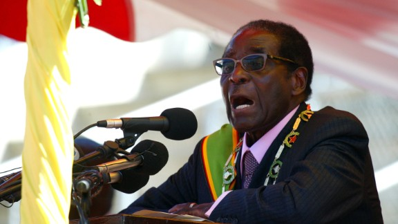 President of Zimbabwe Robert Mugabe is 91 years old, and gained power in 1987. His rule has been highly controversial. He once won the top prize in a lottery organized by a state-owned bank, among other things. His heir apparent is close ally and Vice President Emmerson Mnangagwa, nicknamed