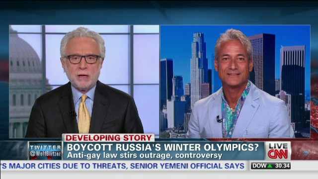 Fmr. Olympian speaks out on boycott idea