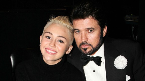"""Miley Cyrus wasn't even born when her dad, Billy Ray Cyrus, soared to No. 1 on the country charts with the single """"Achy Breaky Heart."""" Fourteen years later, Miley's dad would join her on the Disney Channel's """"Hannah Montana,"""" the series that made her famous. By the time the show ended in 2011, Miley had starred in several movies and scored some hit songs of her own."""