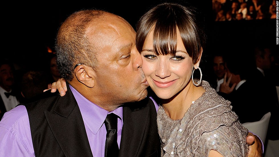 "You might think that Rashida Jones would have found it difficult to step out from the shadow of her dad, Quincy Jones, the legendary music producer behind such acts as Ray Charles and Michael Jackson. But the actress has charted her own course, starring in TV series such as ""Boston Public"" and ""Parks and Recreation"" in addition to the movies ""I Love You, Man"" and ""The Social Network."" Maybe she got the acting bug from her mom, Peggy Lipton, of ""The Mod Squad"" and ""Twin Peaks"" fame."