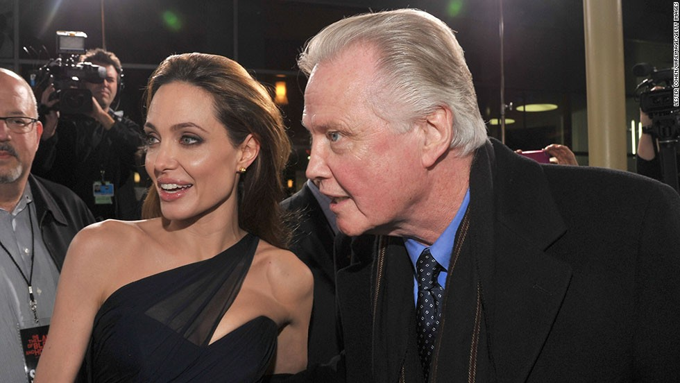 "Angelina Jolie and her father, Jon Voight, reportedly have a contentious relationship, but they have one thing in common: The camera loves them. Jolie was born six years after her father's career took off with 1969's ""Midnight Cowboy,"" and her first credited role came in her dad's 1982 movie, ""Lookin' to Get Out."" Soon Jolie had an Oscar, for 1999's ""Girl, Interrupted,"" to go along with her dad's from 1978's ""Coming Home."""