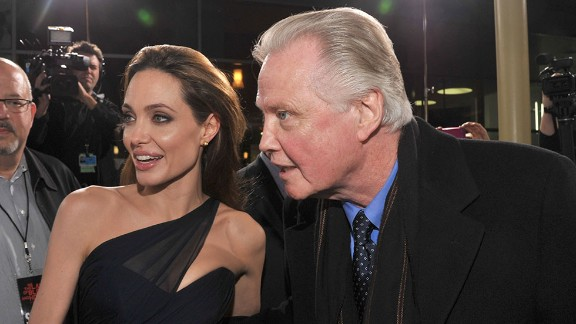 """Angelina Jolie and her father, Jon Voight, reportedly have a contentious relationship, but they have one thing in common: The camera loves them. Jolie was born six years after her father's career took off with 1969's """"Midnight Cowboy,"""" and her first credited role came in her dad's 1982 movie, """"Lookin' to Get Out."""" Soon Jolie had an Oscar, for 1999's """"Girl, Interrupted,"""" to go along with her dad's from 1978's """"Coming Home."""""""