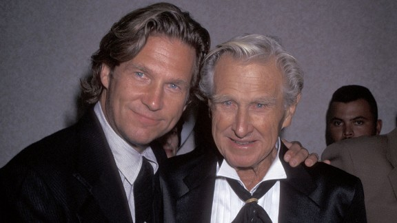 """Prolific actor Lloyd Bridges seemed to pass on the acting bug to his son Jeff early on. Dad starred in movies such as 1952's """"High Noon"""" and TV series such as """"Sea Hunt,"""" a popular show that young Jeff got his start on in the late '50s. By 1971, Jeff established himself as a breakout star with an acclaimed role in """"The Last Picture Show."""" Lloyd's son Beau also has had a successful career in movies and TV."""