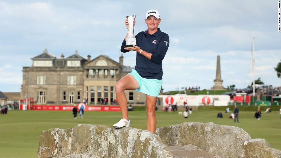 American Stacy Lewis is ranked third in the world and is a two-time major champion. She's the highest ranked of the 20 Solheim Cup players who will be featuring in France ahead of the team showdown between the United States and Europe on September 18.