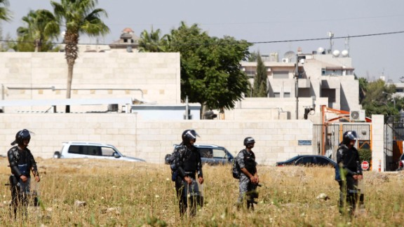 A recently intercepted message among senior al Qaeda operatives alarmed the U.S. State Department and led to the closing of 22 embassies and consulates Sunday, August 4, across the Middle East and North Africa. On Sunday afternoon, the State Department said it had extended the closures in 15 of the locations until Saturday, August 10, and added four other posts to the list. Click through to see which facilities are affected, beginning with the U.S. Embassy in Amman, Jordan, which is closed for the week.