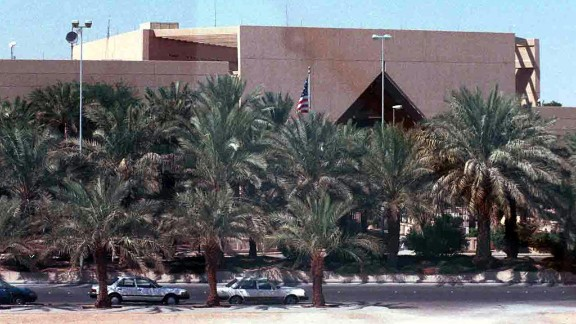 The U.S. Embassy in the Saudi capital of Riyadh will be closed for the week along with the consulates in Dhahran and Jeddah.