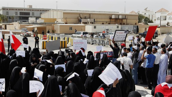 The U.S. Embassy in Manama, Bahrain, will remain closed for the week.