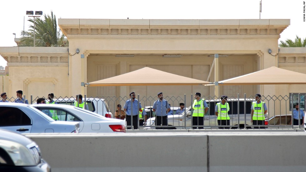 The U.S. Embassy in Doha, Qatar, is closed for the week.