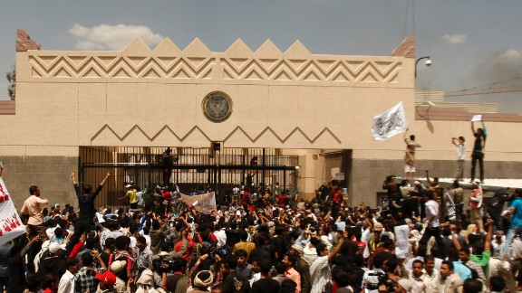 The U.S. Embassy in Sanaa, Yemen, is closed until August 10.