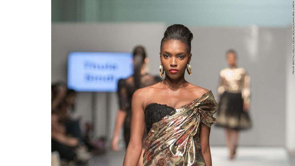 Africa Fashion Week Brings Style Fusion To London Catwalk Cnn