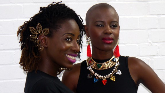 Looking ahead, Ademiluyi says the goal is to hold the event twice a year and also establish a distribution outlet to promote Africa-inspired designers. Rya-V Jewellery.