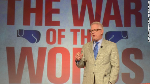 NEW YORK, NY - SEPTEMBER 13: Glenn Beck speaks during the Dish Network War Of The Words at Hammerstein Ballroom on September 13, 2012 in New York City. (Photo by Kris Connor/Getty Images for Dish Network)