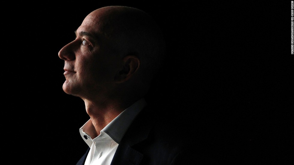 Jeff Bezos, chief executive officer of Amazon.com Inc., wasn't always snapping up newspaper businesses like the Washington Post and changing the way we buy books. His first job was flipping burgers at McDonald's.