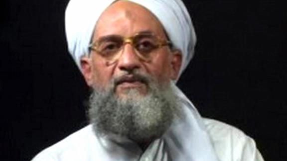 Al Qaeda second-in-command Ayman Al-Zawahiri at an undisclosed place and time. Al-Zawahiri today announced that Egypt