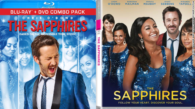 "Spot the difference? The U.S. DVD cover for ""The Sapphires,"" left, has sparked criticism. The Australian version is on the right."