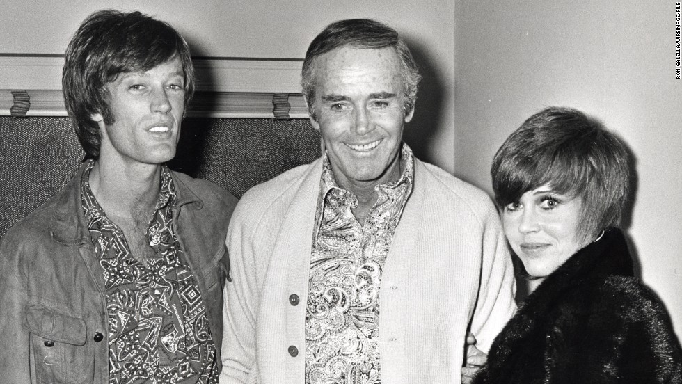Legendary actor Henry Fonda, center, produced a famous family. His children, Peter and Jane, both went on to notable film careers of their own, as did his granddaughter Bridget.