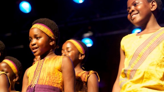 """The African Children's Choir is composed of children aged seven to 10, from various African countries. Currently touring the United States, the choir is the subject of new documentary film """"Imba Means Sing,"""""""