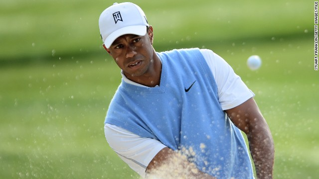 World No. 1 Tiger Woods has been stuck on a tally oof 14 majors for over five years.