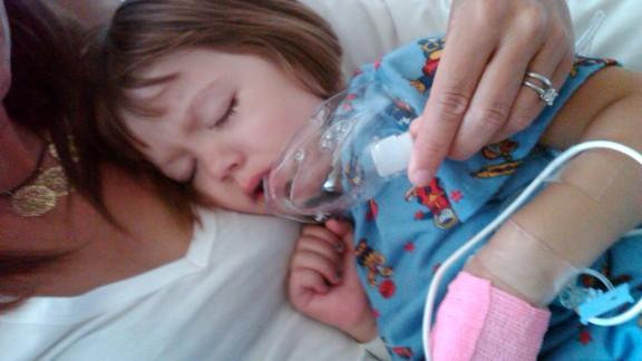 The seizures were so severe Charlotte