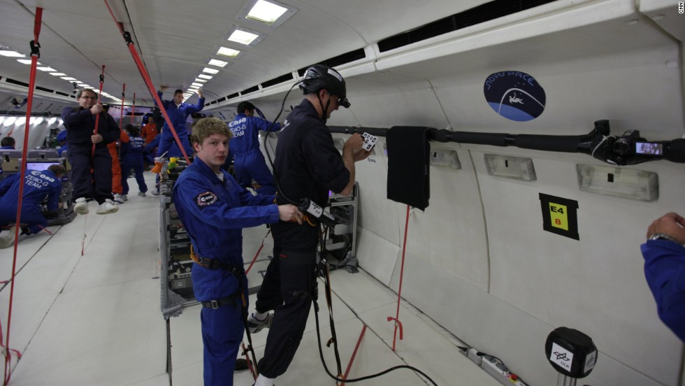 For years, scientists have taken advantage of parabolic flights to conduct experiments in the simulated zero-gravity field they offer.
