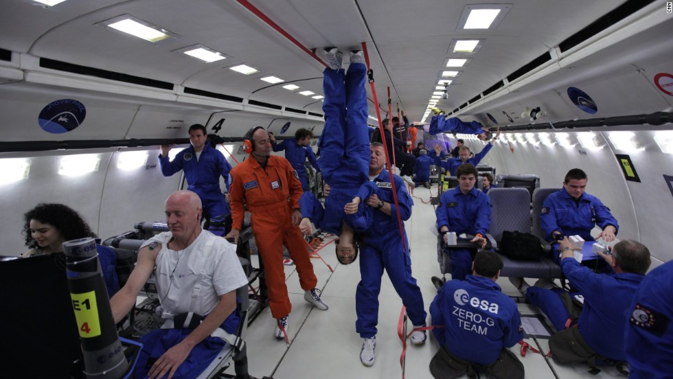 The European Space Agency recently opened up parabolic flights to the general public.