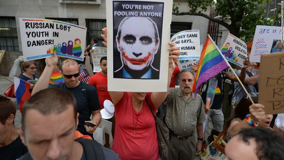 Russia homosexuality law olympics
